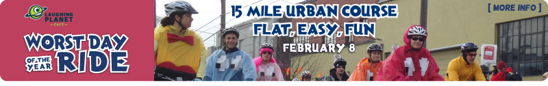 Worst Day of the Year Ride - Feb 8 - Portland!