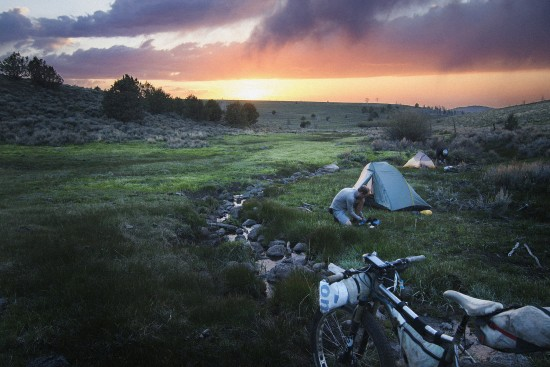 Camped in Paddler's Meadow on Steens Mountain
