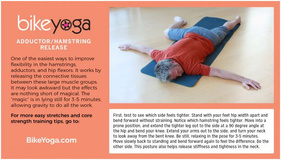 yoga stretch for cycling lower back pain hip flexor image