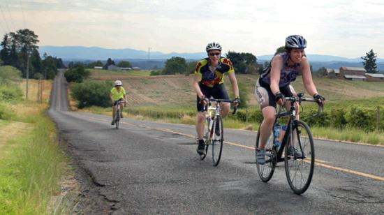 Harvest Century riders